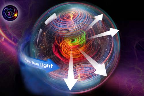 18- The Universe Rotation at a Speed Higher than Light and its Wonderful Effects