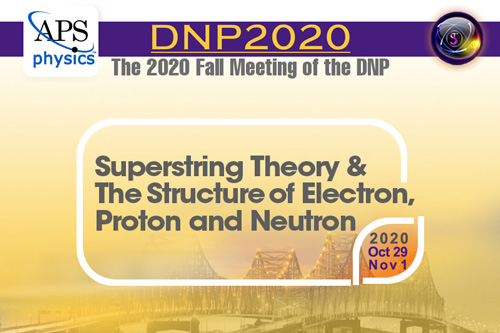 2020 Fall Meeting of the DNP of the American Physical Society