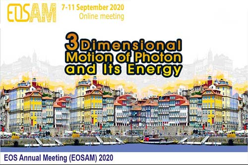 European Optical Society Annual meeting (EOSAM) 2020